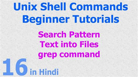 grep two words in the pattern 16 unix linux shell search pattern text string