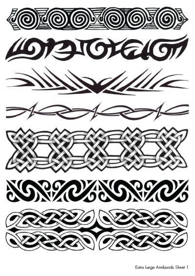 tribal tattoo bands celtic and tribal armband tattoos designs tattoos and