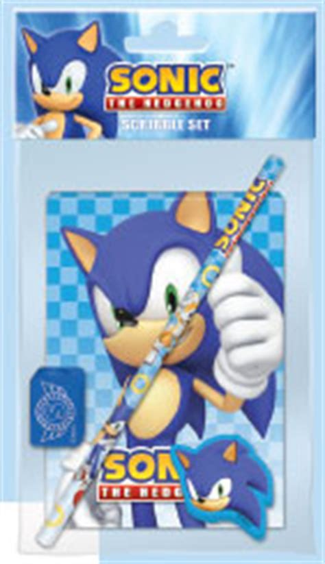 Sonic Notepad Ring Notebook sonic the hedgehog school supplies of the uk
