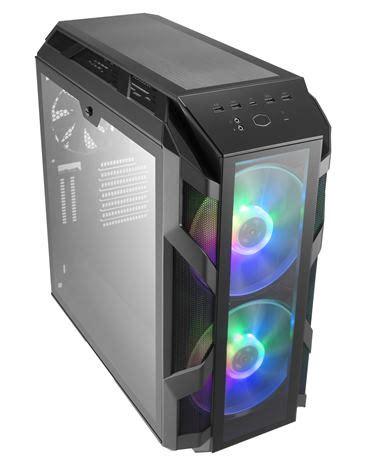 gabinete h500m cooler master releases mastercase h500m