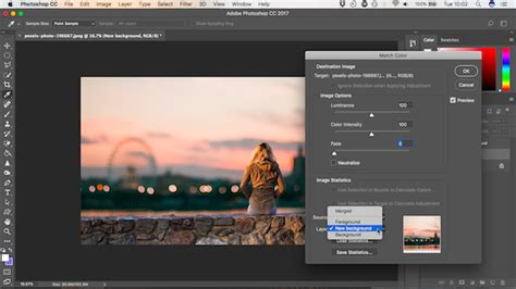 photoshop match color how to change the background of a photo in photoshop