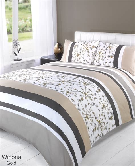 Duvet Quilt Cover Bedding Set Yellow Single Double King Yellow Bedding Sets King