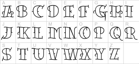 font per lettering tattoo lettering fonts free