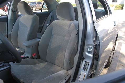 Seat Covers For Toyota Corolla Toyota Corolla 2003 2008 Iggee S Leather Custom Seat Cover