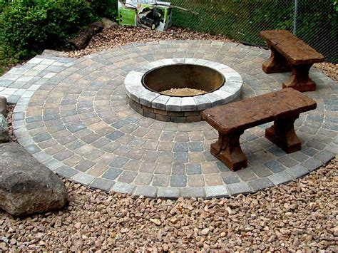 and easy pit paver pit designs pit design ideas