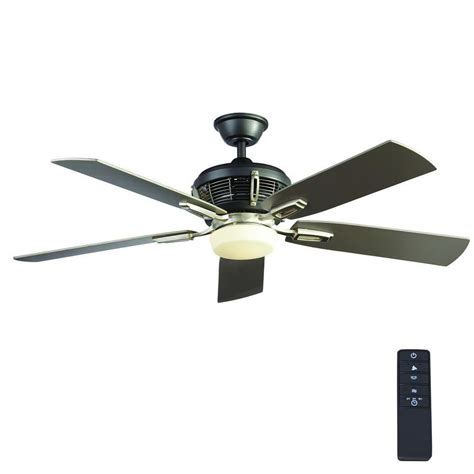 hton bay ceiling fan led light brushed nickel outdoor ceiling fan with light 28