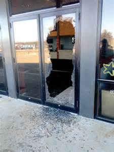 Gilford House Of Pizza by Vandals Hit Airport Plaza Seek Help
