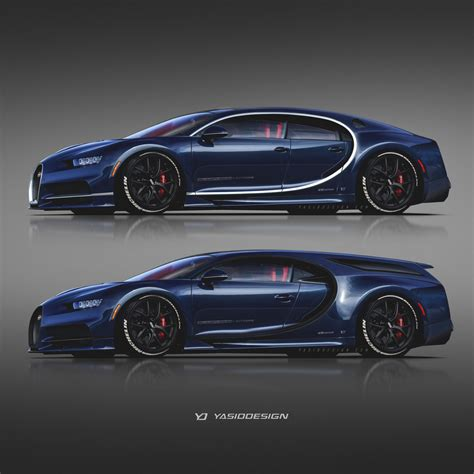 Bugatti 4 Door by Four Door And Shooting Brake Bugatti Chirons Are