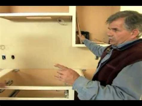 how to install kitchen cabinets youtube how to install kitchen cabinets this old house youtube