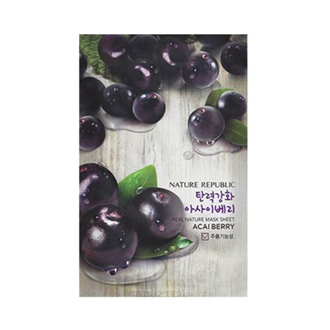 Masker Nature Republic nature republic real nature mask sheet 6pcs ebay