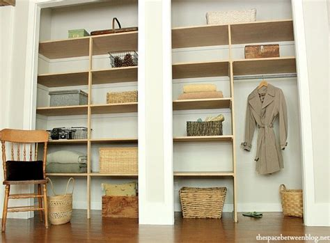 Closet Wall Shelves Remodelaholic 14 Creative Closet Solutions To Organize