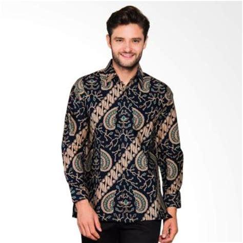 Baju Batik Pria Model Kemeja Slimfit Harga Terjangkau Bagus jual adiwangsa model modern slim fit baju kemeja batik pria 024 harga kualitas