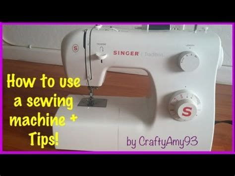 xl deploy tutorial how to use a sewing machine sewing tips easy for