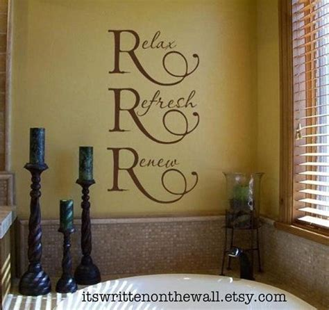 spa art for bathroom 17 best bathroom wall quotes on pinterest bathroom wall