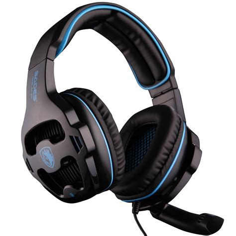 Headset Mic Gaming Galleon Sades Universal Gaming Headset With Mic 810s
