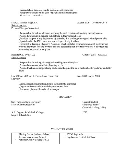 skin care resume resume ideas