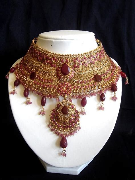 Jodha Aminah jodha akbar inspired bridal necklace amina s