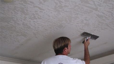 How To Skip Trowel A Ceiling by Contact Us