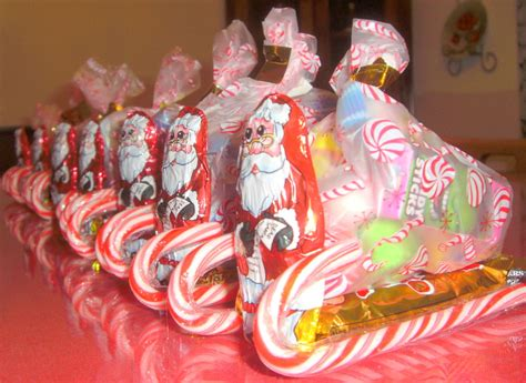 candy cane skeigh xmas craft 10 sleigh ideas with guide patterns