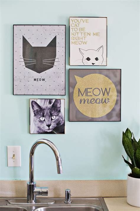 cat home decor cat lovers an animal lover s guide to stylish decorating cat prints