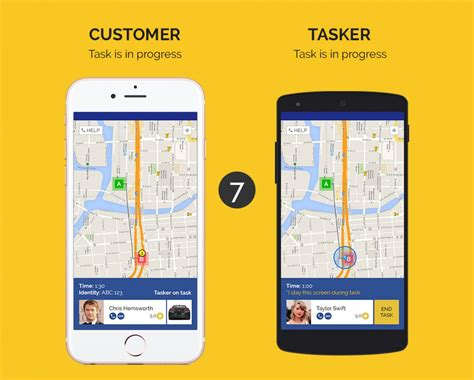 Buy Uber For On Demand Services Ios App Business And Social Networking Chupamobile Com Uber App Template