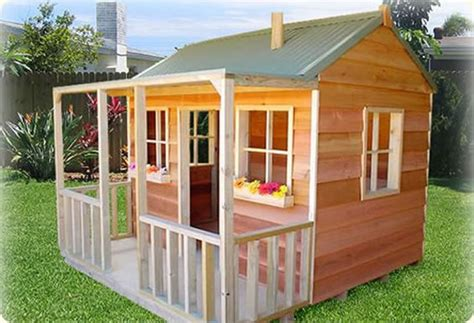 Simple Playhouse Plans Wallaby Lodge Quot Cubby House Yard Simple Cubby House Plans