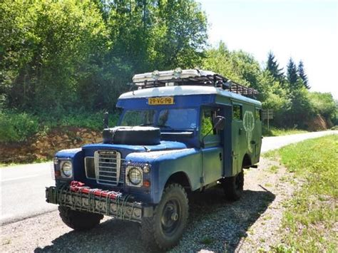 Autoscout Defender land rover 109 ambulance sur autoscout land rover