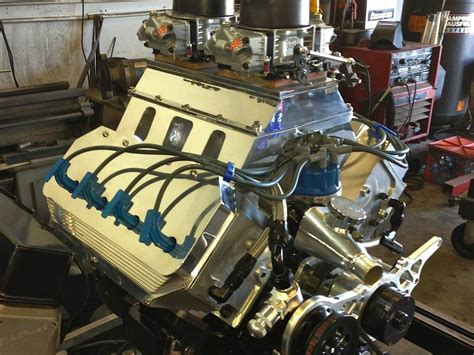 troline plymouth ford small block runs hemi heads designed by chet