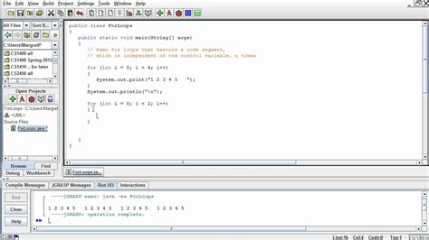 java layout conventions java basics for loop exles part1 youtube
