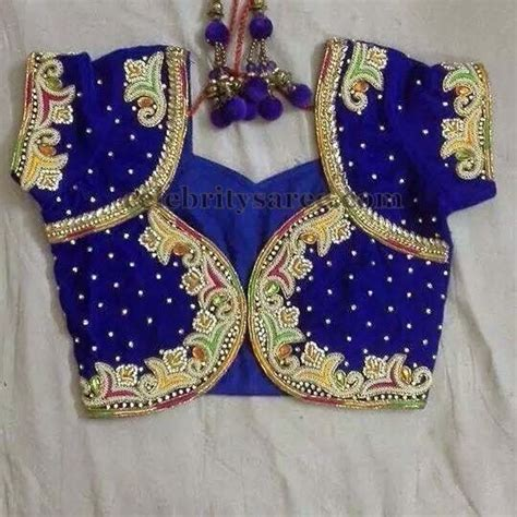 blouse pattern in pinterest thread work new pattern blouse saree blouse patterns