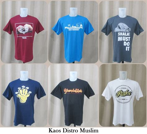 Kaos Distro Murah Original Skumanick The Size Xl 10 grosir kaos distro muslim dewasa branded murah 35ribuan