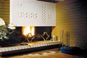 mid century modern fireplaces mid century modern fireplace interiors fireplace