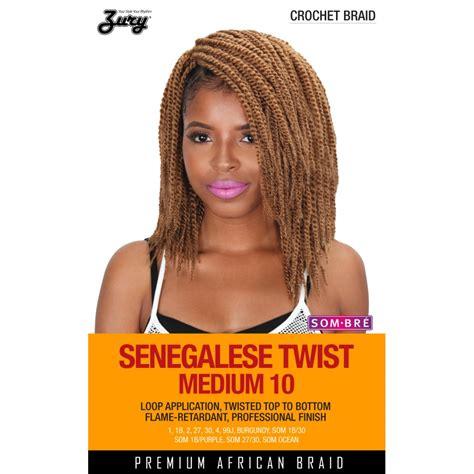 is zury hair good for seneglese twist zury synthetic crochet braid senegalese twist medium 10