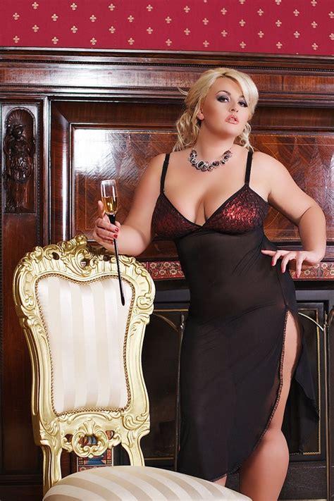 18 Angelin Black Big Size Jumbo Fit 2xl Dan 3xl nightwear chemise camisole negligee big plus size xl 2xl 3xl 4xl 2x 3x 4x eu 48 50