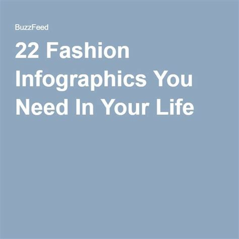 Your Style With The World You You Want To by Fashion Infographic Fashion Infographic 22 Fashion