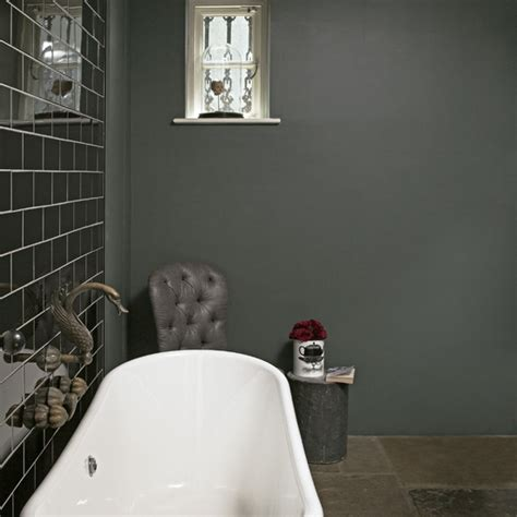 grey tile bathroom ideas grey bathroom ideas to inspire you ideal home