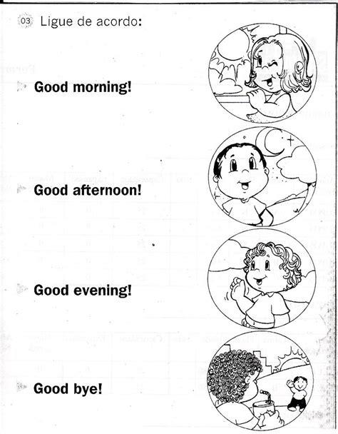 imagenes sobre good morning prof criseila atividades em ingl 234 s