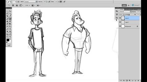 how to do sketching character shape sketching 1