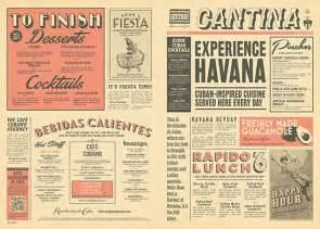 classic newspaper template vintage newspaper menu design graphic design mexican