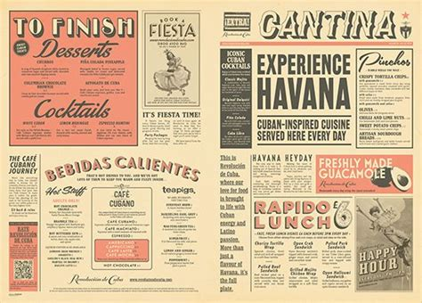 design menu vintage vintage newspaper menu design graphic design mexican