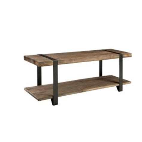 alaterre furniture modesto rustic storage bench