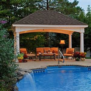 Backyard Pool Gazebo Best 25 Backyard Pavilion Ideas On Outdoor