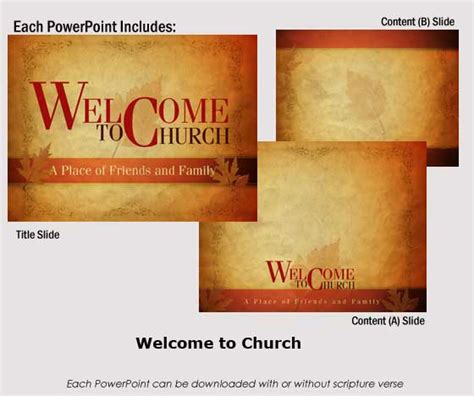 welcome powerpoint templates fall seasonal powerpoints christian dramas dynamic
