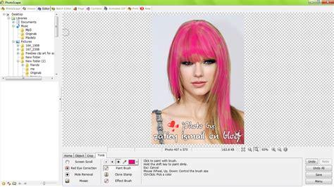 tutorial warnakan rambut zatieylicious tutorial photoscape warnakan rambut