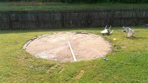 Backyard Inflatable Pools by How Should I Level The Ground For My Above Ground Pool