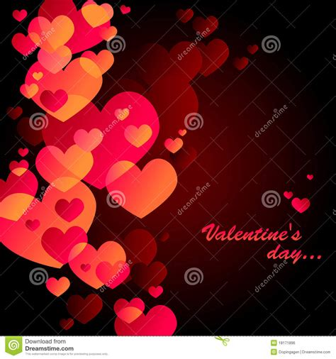 black valentines day black s day card royalty free stock image