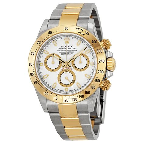 Rolex Daytona Gold Automatic rolex cosmograph daytona white stainless steel and