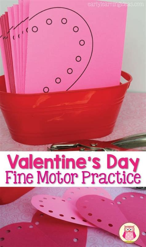 valentines activities motor activities for a for punching