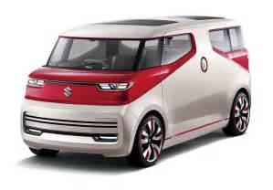 Suzuki Concept Cars Suzuki Takes The Wraps The Air Triser Minivan Concept