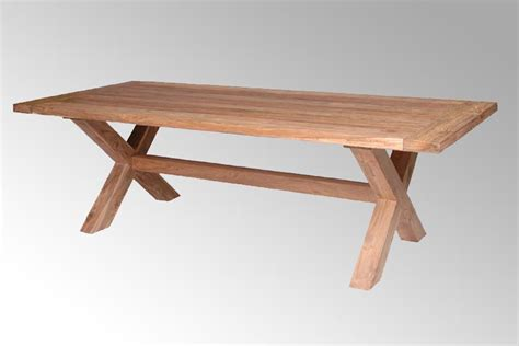 lyon teak garden dining table reclaimed teak furniture